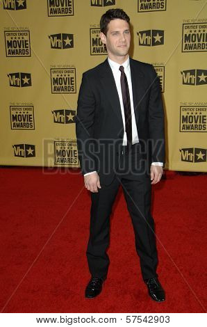 Justin Bartha at the 15th Annual Critic's Choice Awards, Hollywood Palladium, Hollywood, CA. 01-15-10