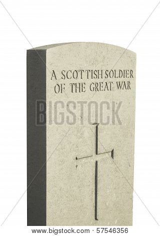 A Scottish Soldier Of The Great War
