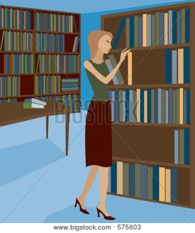 Bookstore Or Library 1