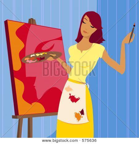 Painting A Portrait