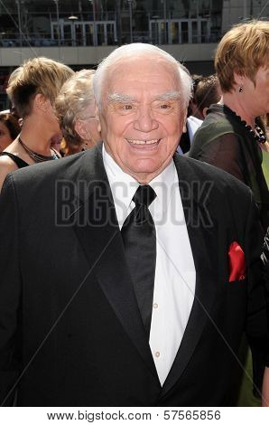 Ernest Borgnine at the 61st Annual Primetime Creative Arts Emmy Awards. Nokia Theatre, Los Angeles, CA. 09-12-09