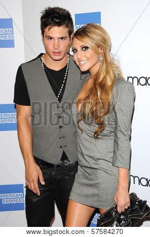 Cody Longo and Cassie Scerbo at the Macy`s Passport 2009 Fashion Show, Barker Hanger, Santa Monica, CA 09-24-09