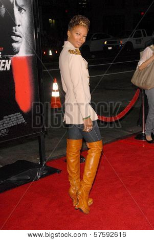 Eva Marcille  at the Los Angeles Premiere of 'Law Abiding Citizen'. Grauman's Chinese Theatre, Hollywood, CA. 10-06-09