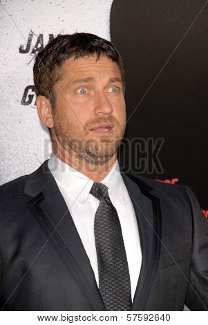 Gerard Butler  at the Los Angeles Premiere of 'Law Abiding Citizen'. Grauman's Chinese Theatre, Hollywood, CA. 10-06-09