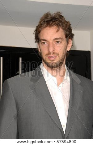 Pau Gasol  spotted on the Street. Melrose Blvd, West Hollywood, CA. 10-12-09