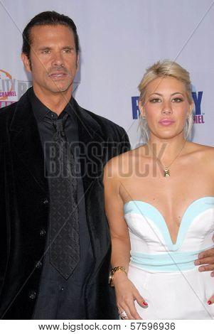 Lorenzo Lamas and Shayne Lamas at Fox Reality Channel's 'Really Awards' 2009. Music Box Theatre, Hollywood, CA. 10-13-09