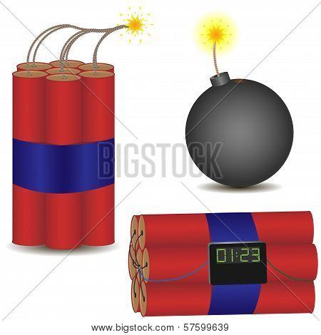 pyrotechnic set