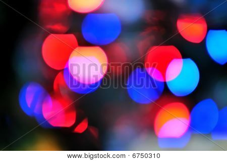 Blur Lights  Defocused Background