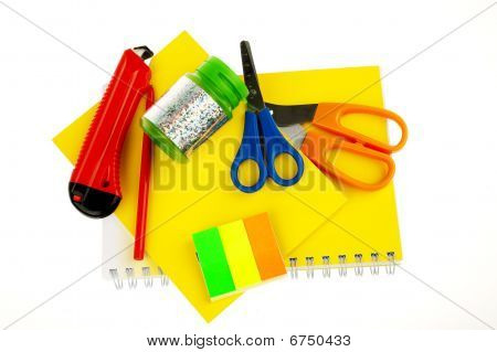 stationery office materials