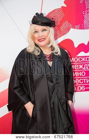 MOSCOW - JUNE, 28: Russian actress I. Miroshnichenko. 36st Moscow International Film Festival. Closing Ceremony at Rossiya Cinema . June 28, 2014 in Moscow, Russia