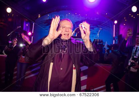 MOSCOW - JUNE, 19: Duma deputy Vladimir Zhirinovsky. 36st Moscow International Film Festival. Afterparty Opening Ceremony at Neskychy Sad. June 19, 2014 in Moscow, Russia