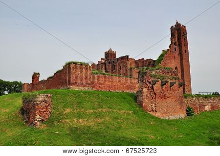 Castle In Radzyn Chelminski, Poland