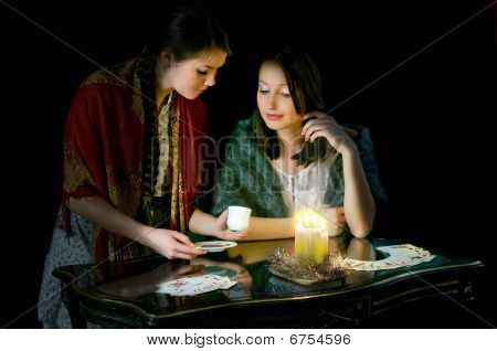 Christmastide Fortune-telling