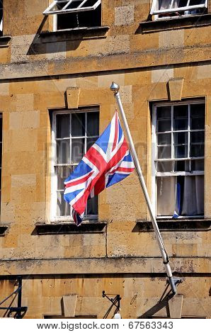 Union Jack flag, Chipping Campden.