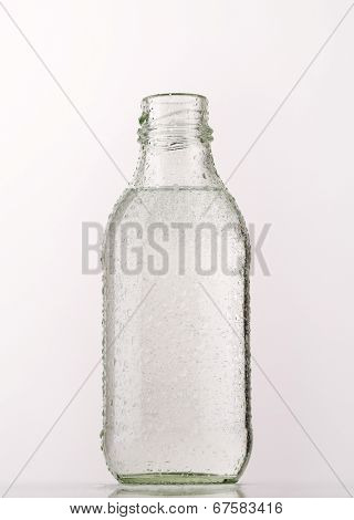 glass bottler of water