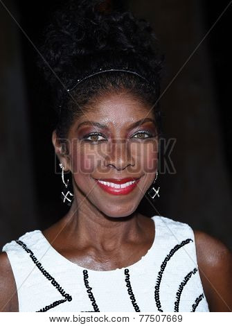 LOS ANGELES - SEP 13:  Natalie Cole arrives to Brent Shapiro Foundation Summer Spectacular 2014  on September 13, 2014 in Los Angeles, CA