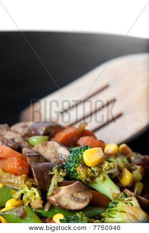 Close Up Vegetables