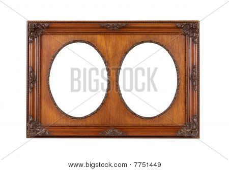 Frame, Large with 2 Oval Patterns