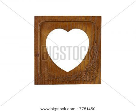 Frame, Heart Shape Pattern