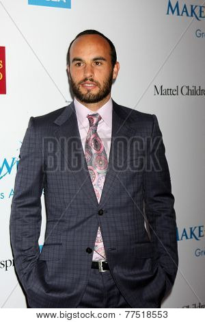 LOS ANGELES - DEC 3:  Landon Donovan at the Make-A-Wish Foundation at the Beverly Wilshire Hotel on December 3, 2014 in Beverly Hills, CA