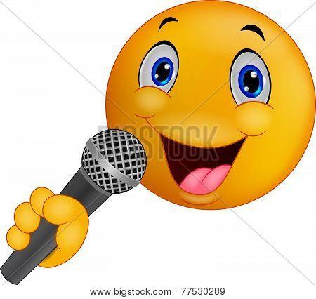 Emoticon singing