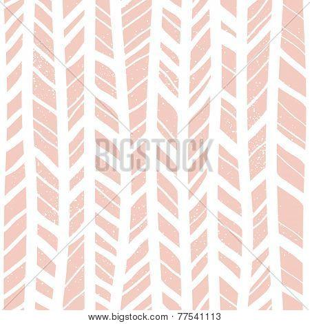 Herringbone hand-drawn seamless pattern