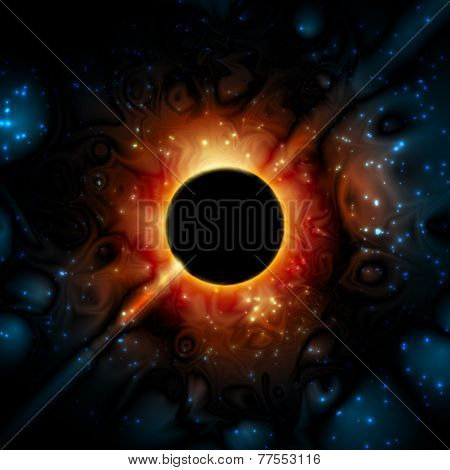 Black Hole Supermassive Gravity Universe Space