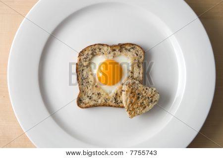 Egg Love Heart