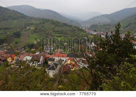 The Village In The Austrian Alps