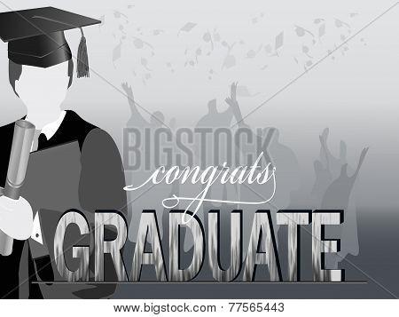 Graduation silhouettes