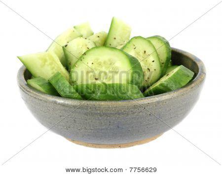Bowl Cucumbers