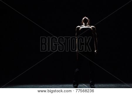 MOSCOW - NOVEMBER, 29: Tue. Diana Vishneva. Rehearsal. Festival of  Contemporary choreography