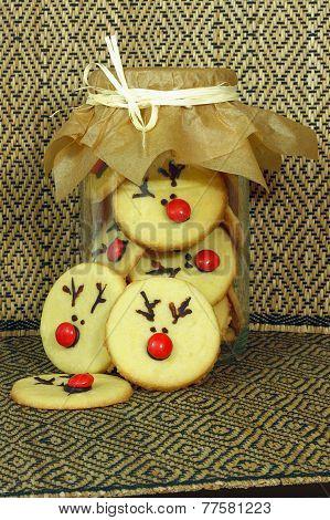 Rudolf Cookies for Christmas