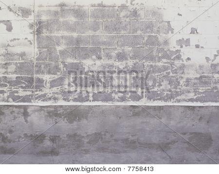 Cinder Block Wall