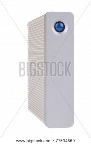 External Hard Drive With Clipping Path