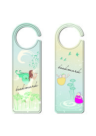 Two Bookmarks With Fairy And Angels Motives