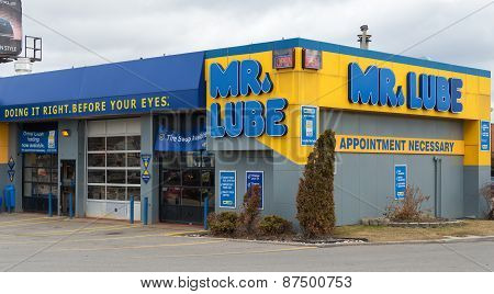 Mr. Lube Service Location, Toronto