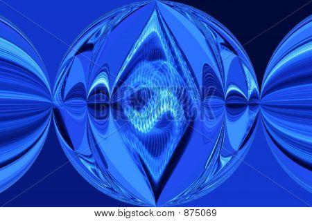 Bright Blue Image