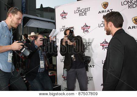 LOS ANGELES - FEB 6:  Photographers, Scott Eastwood at the