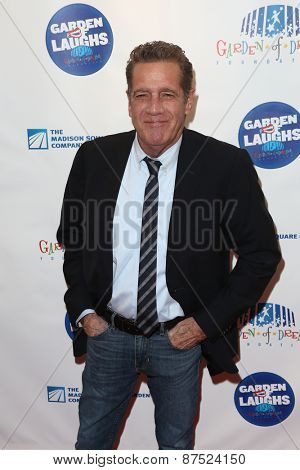 NEW YORK-MAR 28: Musician Glenn Frey  attends the 2015 Garden Of Laughs Comedy Benefit at the Club Bar and Grill at Madison Square Garden on March 28, 2015 in New York City.
