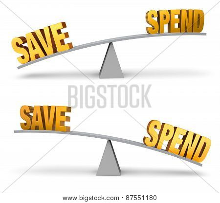 Weighing Whether To Save Or Spend
