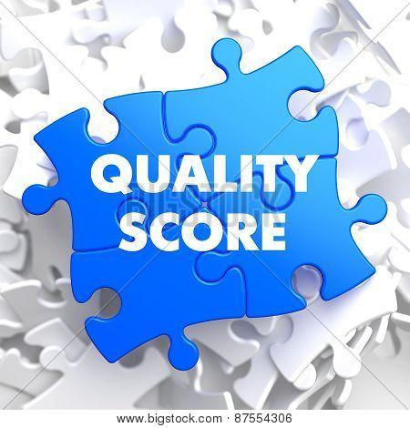 Quality Score on Blue Puzzle.