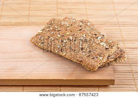 Crispbread With Seeds.