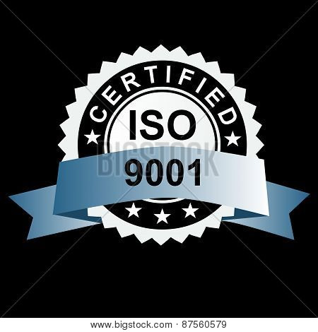 Iso Certified Silver Emblem