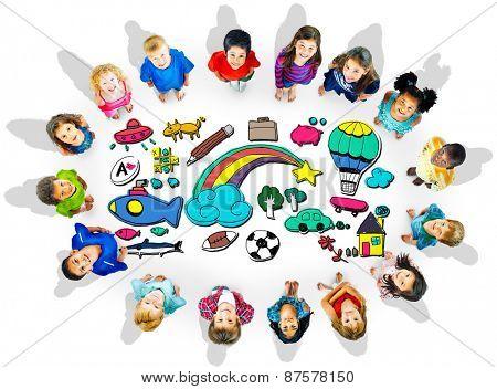 Hobby Immagination Fun Creativity Activity Inspiration Concept