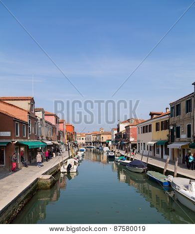 Buildings In Murano During The Day