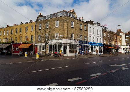 Upper Street In London