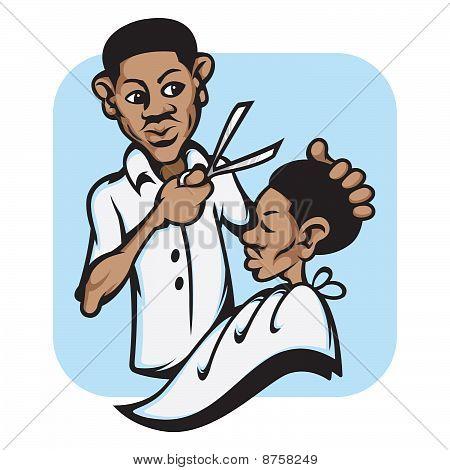 Barber Shop Hair Cut