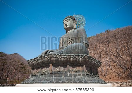 Buddha In The Sinheungsa Temple.