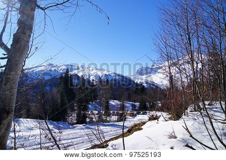 majestic scenery of the Northwest Caucasus